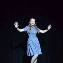 gigi bix shines in white christmas